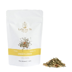 Ginger Lemon Herbal Tea Loose Leaf