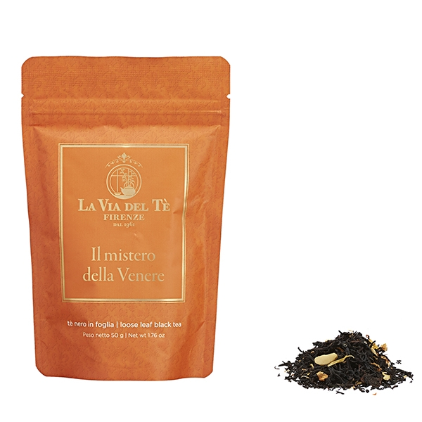 Il Mistero della Venere Leaf tea Flavoured black teas and blends Firenze in 50 grams tin